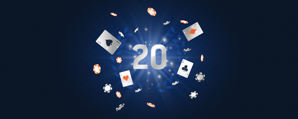 Casino 20th Anniversary Cashback Offer