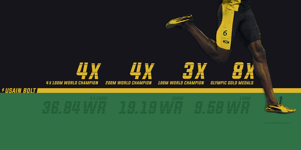 Usain Bolt: Analysing the career of the world's fastest man