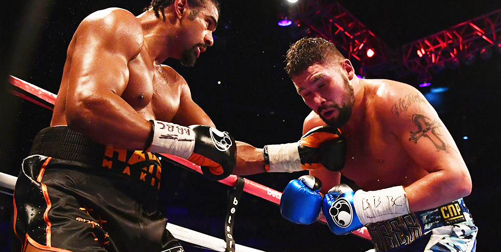 Tony Bellew vs. David Haye II betting preview