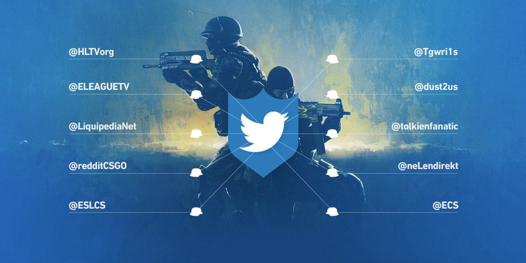 The best CS:GO Twitter accounts to follow
