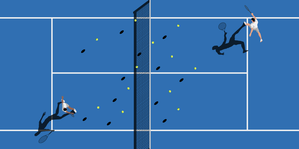 How efficient is the tennis betting market?