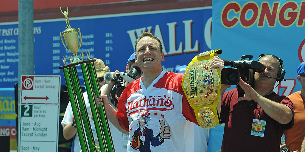 A look at the Nathan's Hot Dog Eating Contest odds