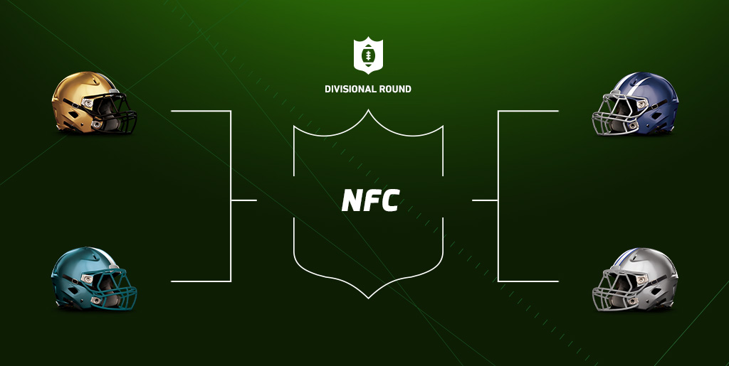 NFC Divisional Round weekend betting preview
