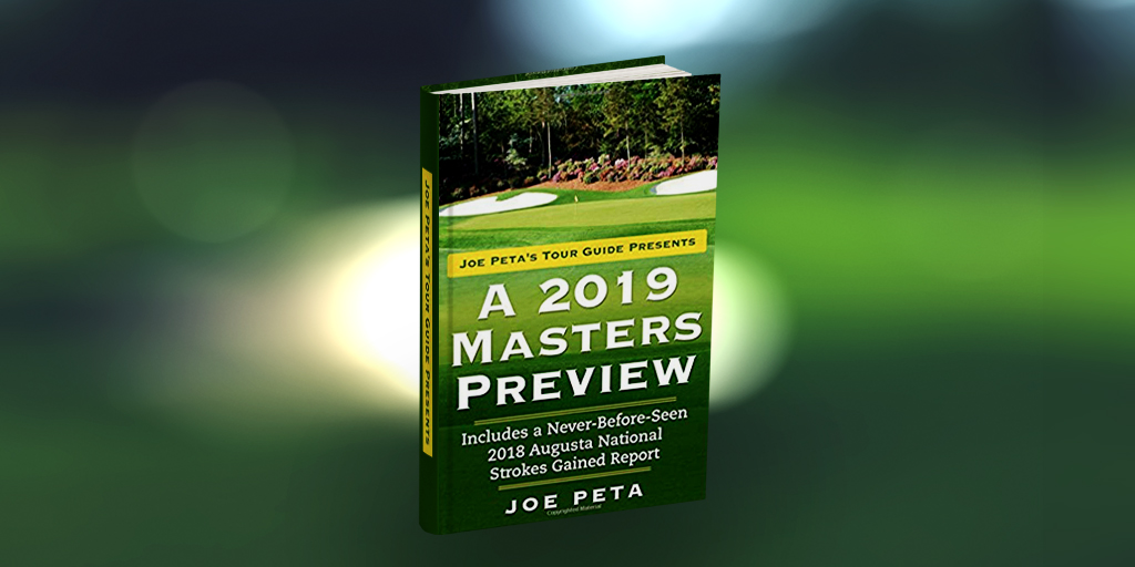Book Review: Joe Peta's Tour Guide Presents A 2019 Masters Preview