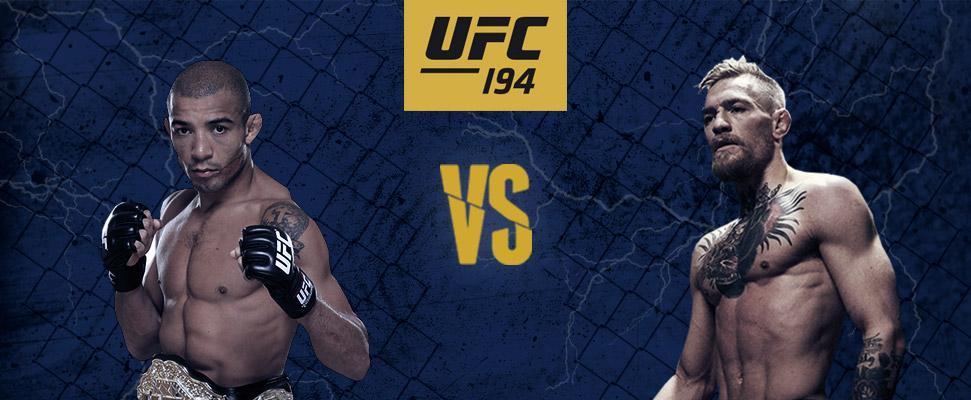 UFC 194:奥尔多 vs 麦格雷戈预览   UFC博彩   MMA博彩