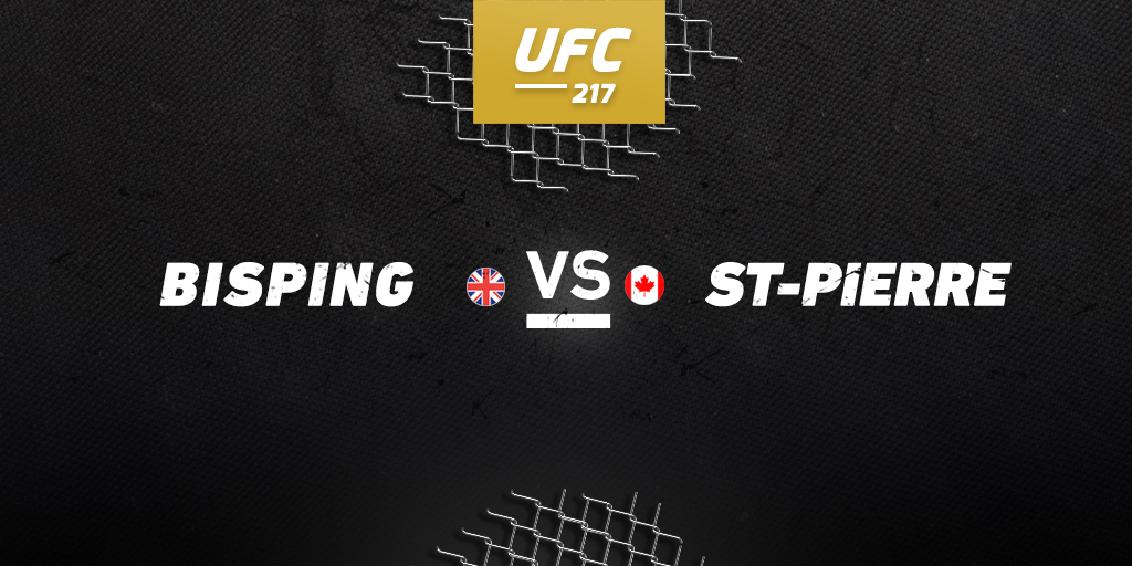 UFC 217: Bisping vs. St-Pierre betting preview