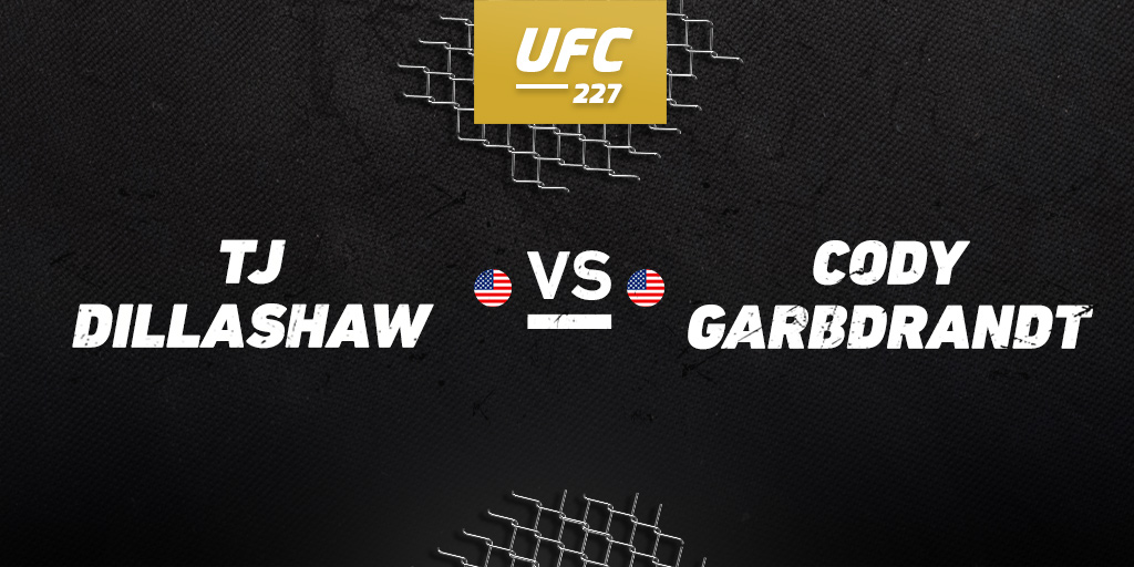 UFC 227: Dillashaw vs. Garbrandt betting preview