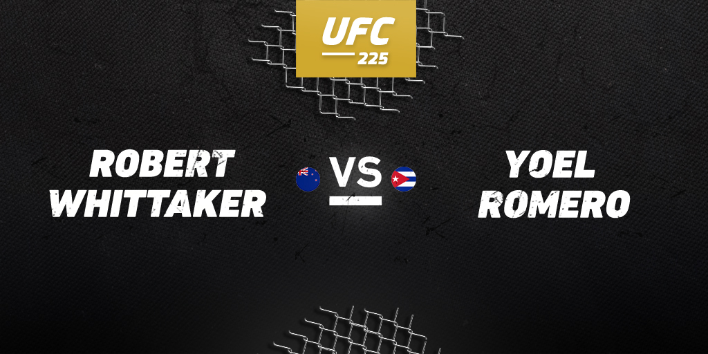 UFC 225: Whittaker vs. Romero betting preview