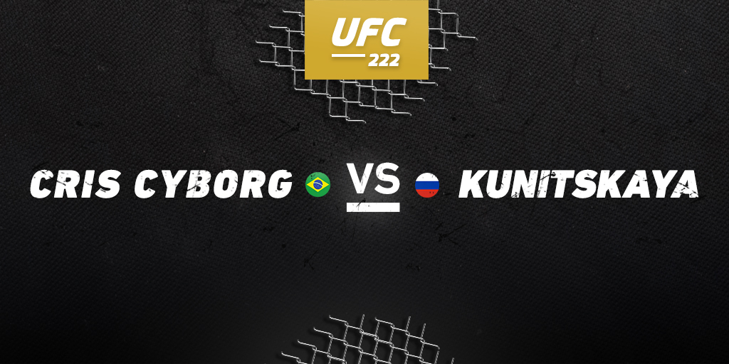 UFC 222: Cyborg vs. Kunitskaya betting preview