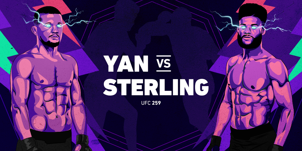 UFC 259 -vetoennakko: Petr Yan vs. Aljamain Sterling