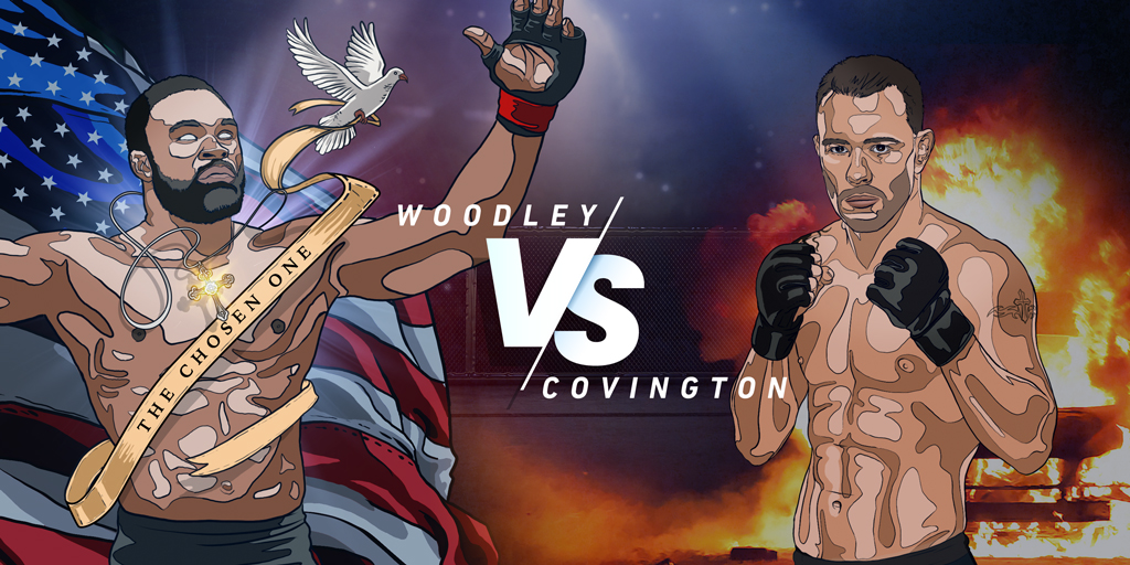 Prévia do UFC Fight Night: Tyron Woodley x Colby Covington