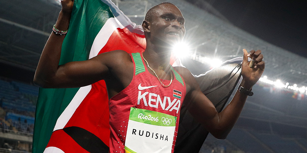 Why is Kenya the number one in distance running?