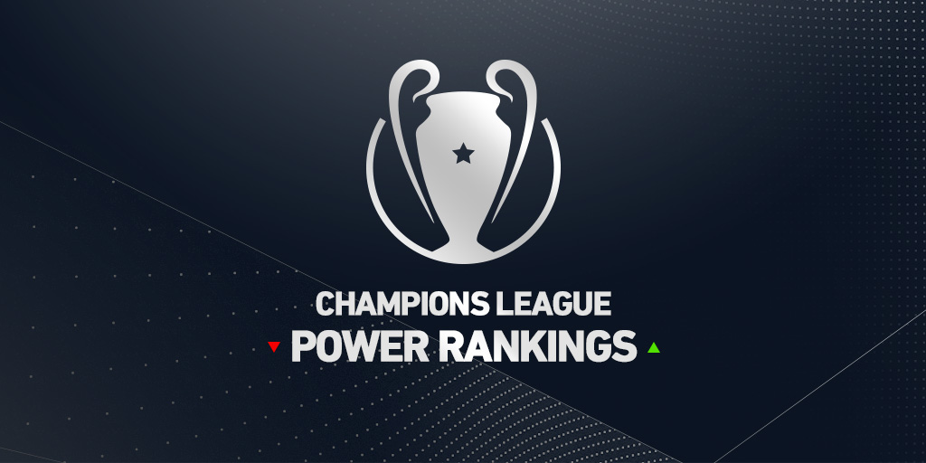 Champions League Power Rankings