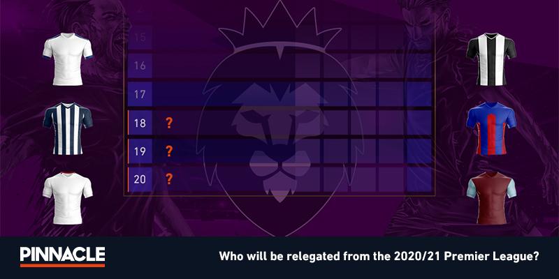 betting premier league relegation 2021-2021