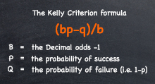 How to use Kelly Criterion for betting