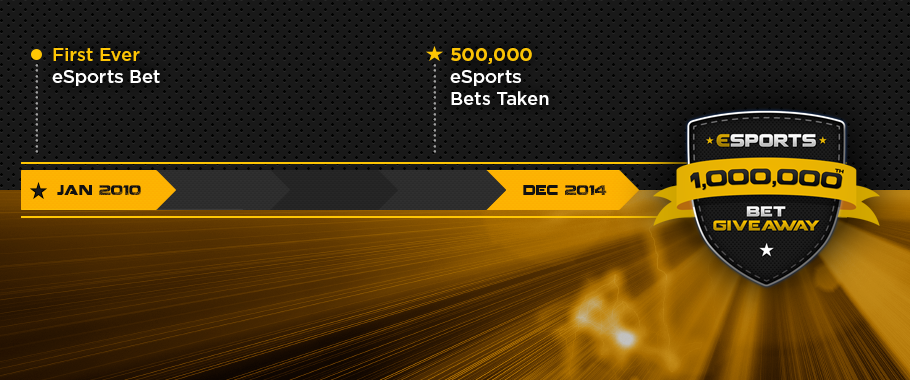 The Road to 1 Million eSports bets