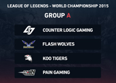 LoL 2015 World Championship - Group A betting preview