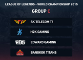 LoL 2015 World Championship - Group C betting preview