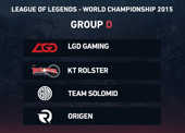 LoL 2015 World Championship - Group D betting preview