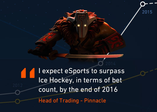 Dota 2 - The International: The rise of eSports betting