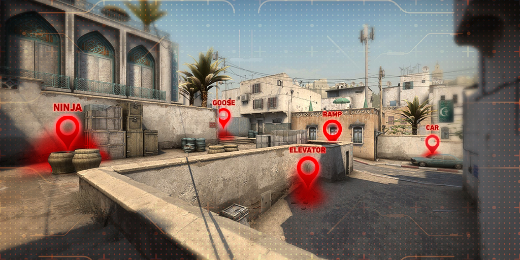 CS:GO: call-outs explicados