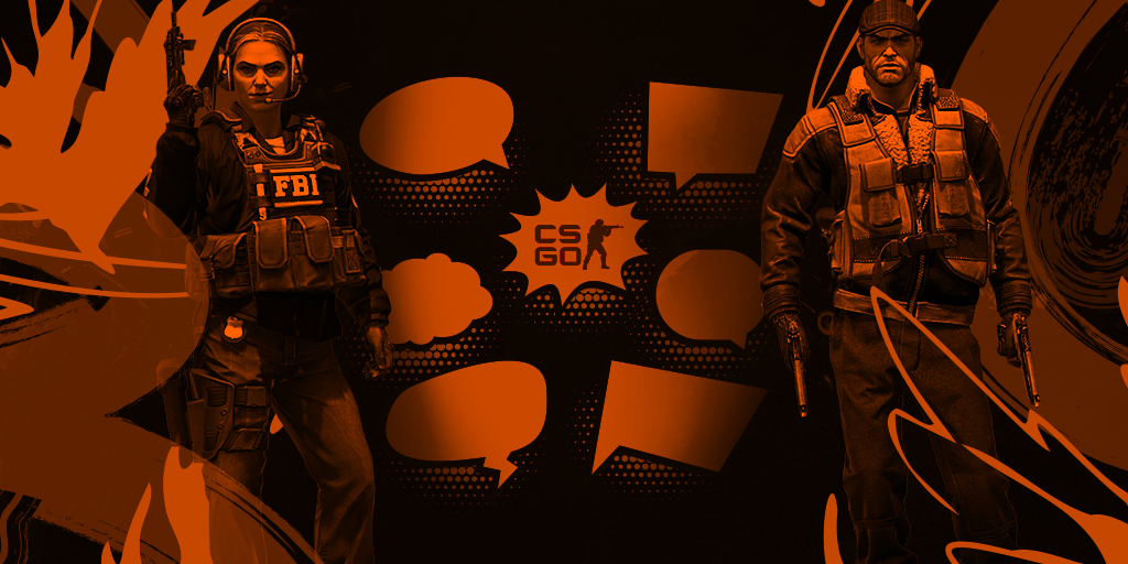 Aspects de la communication dans CS:GO