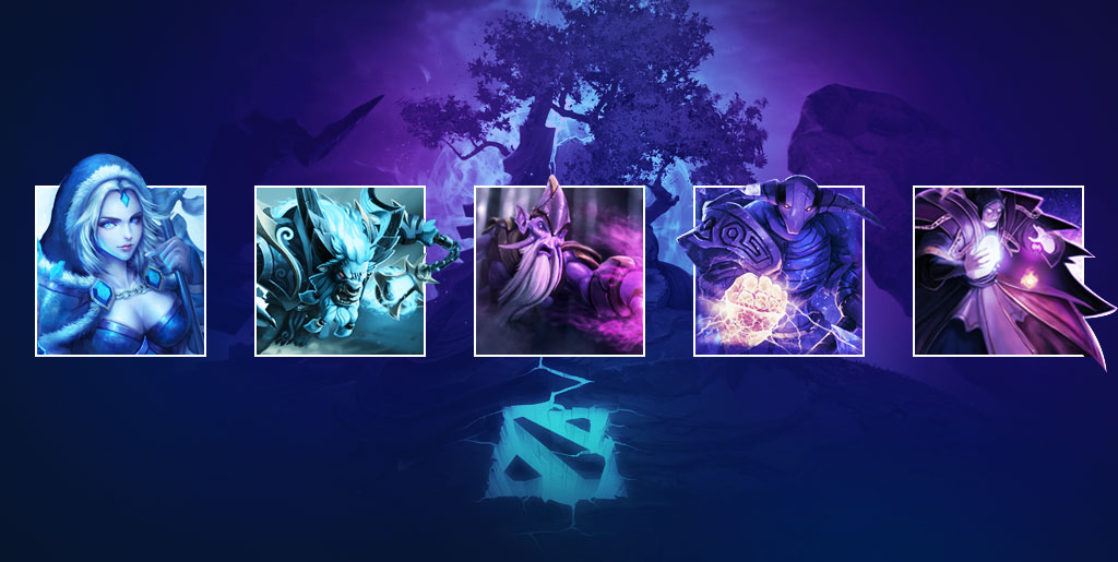 An introduction to the different Dota 2 roles