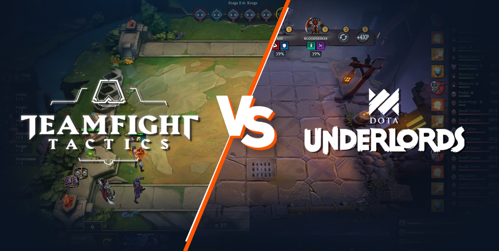 Teamfight Tactics (TFT) vs. Underlords - What are the differences?