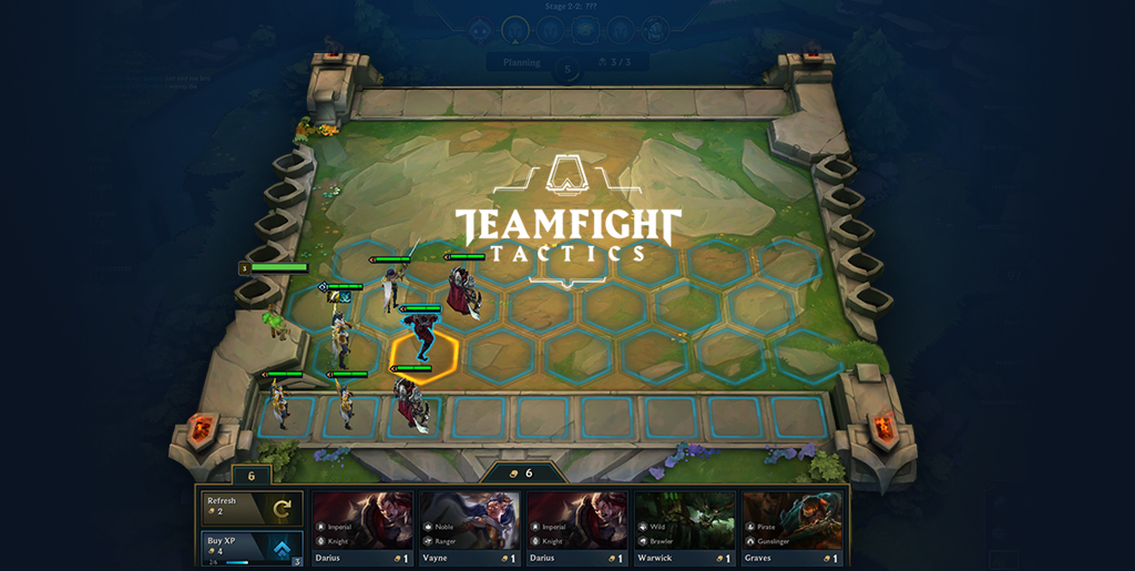 Teamfight Tactics(TFT) 초심자 가이드