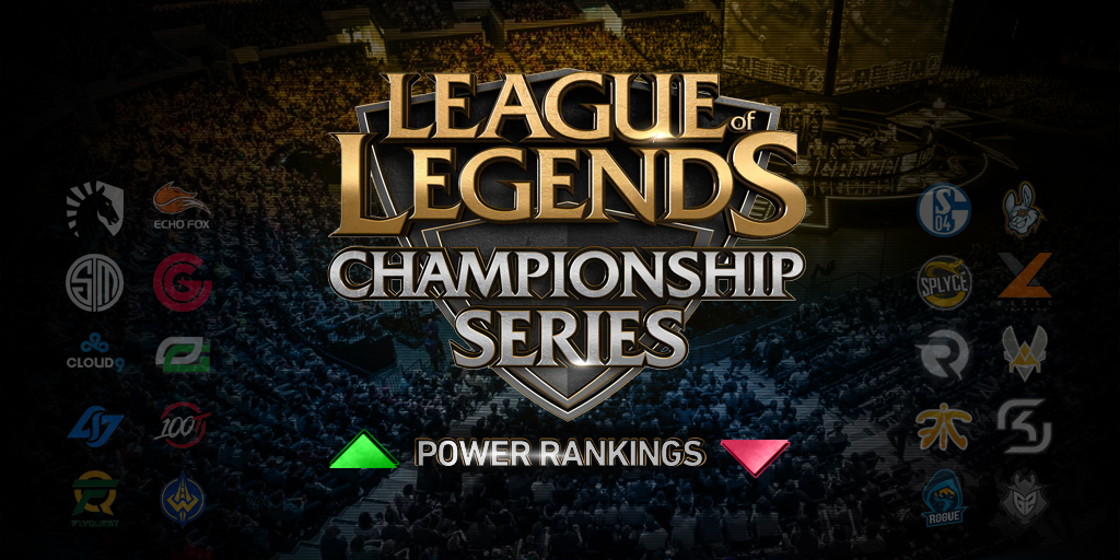 LoL - LCS and LEC power rankings
