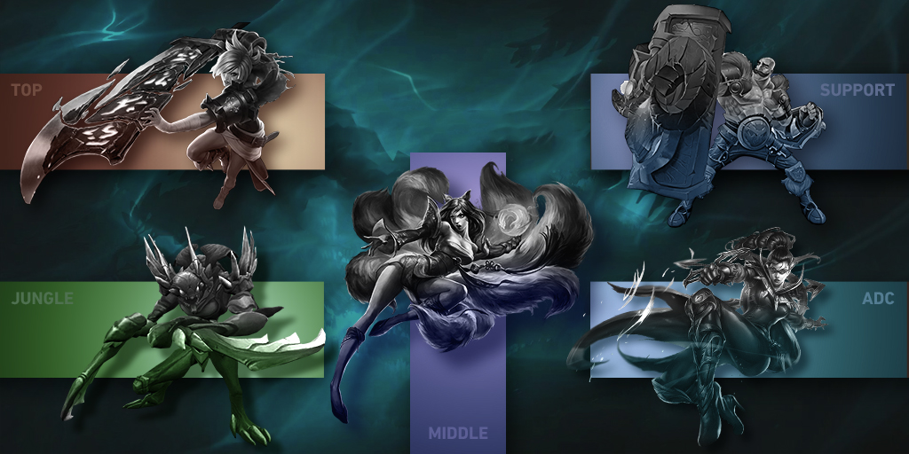 The different League of Legends roles explained
