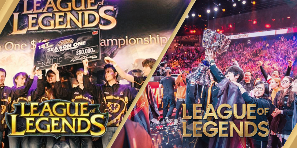 The history of League of Legends esports