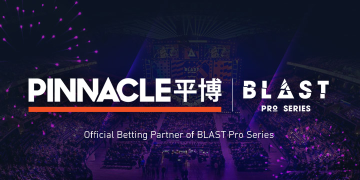 Pinnacle becomes Official Betting Partner for BLAST Pro Series