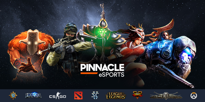 Pinnacle relaunches eSports betting Hub
